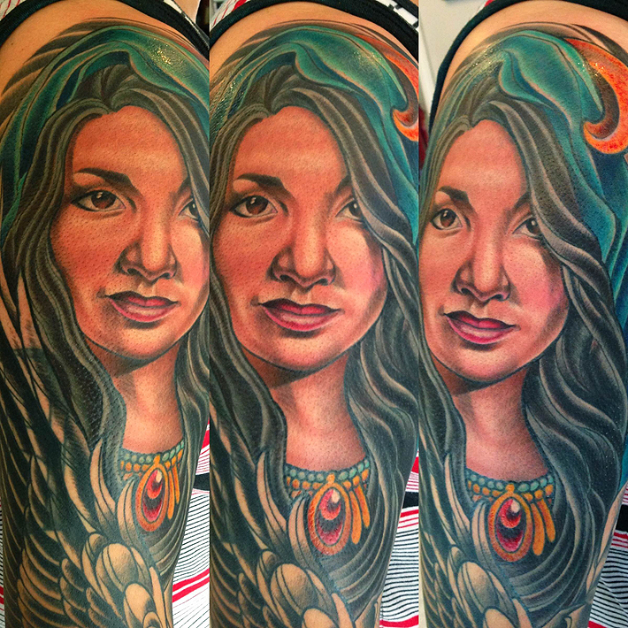 Best custom tattoo 39 s in portland oregon from san diego by for Portland oregon tattoo artists