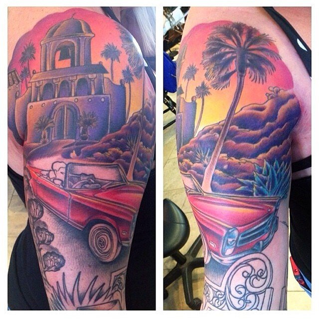 Follow #nathanielgann @nathanieltattoosd www.remingtontattoo.com #sandiego #tattoo #tattooartist