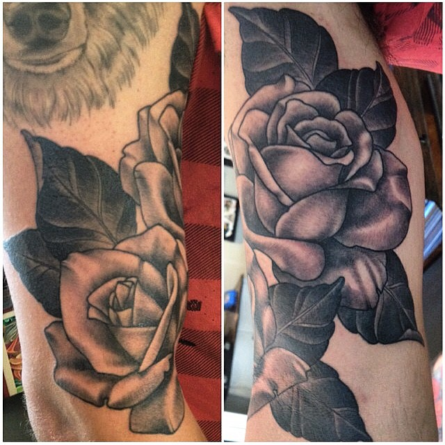 #nathanielgann @nathanieltattoosd @remingtontattoo #sandiego
