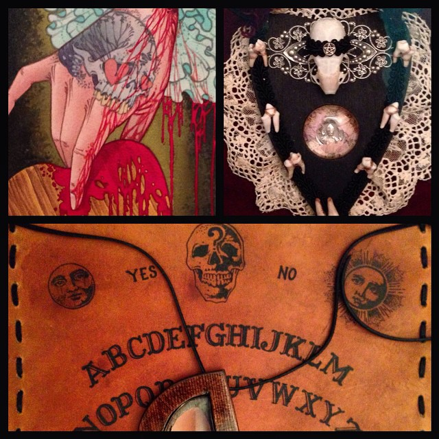 More submissions for the Remington Tattoo @remingtontattoo #ouija #board #artshow this Saturday October 11th at 8pm here are some killer submissions from @lefthandblack @567ryan how thus Saturday October 11th at 8pm here are some killer submissions from @lefthandblack @crystalmcdeath @567ryan  Be there for free drinks and art for sale!  3436 30th st. San Diego 92104