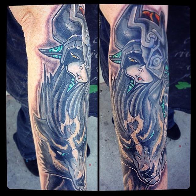 #LegendofZelda tattoo by @gust_razotattoos #zeldatattoo #videogametattoo #gamertattoo