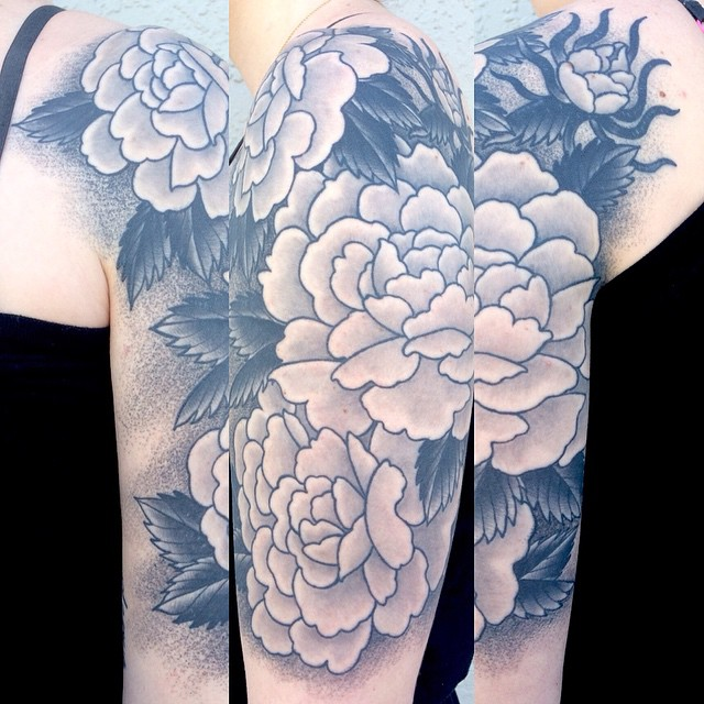 Dot Tattoo Work by Shannon Nordin