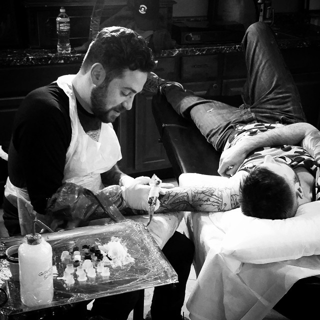 Tattooing - With Tattoo Artist Terry Ribera