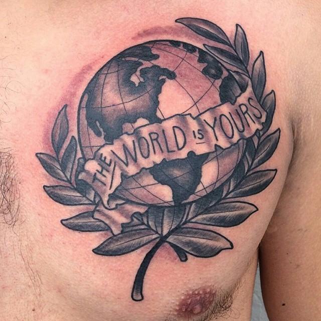 GGlobe Tattoo by Shannon Nordin