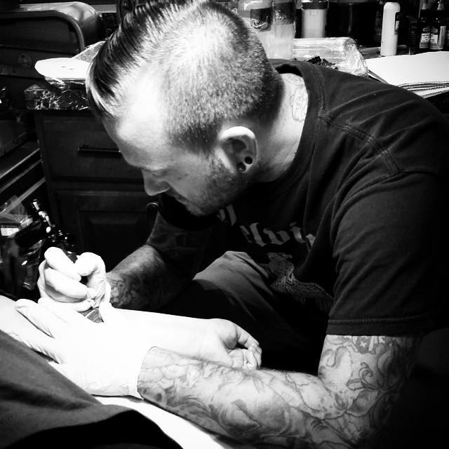 Tattooing - Brad Burkhart