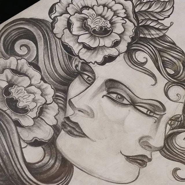 Drawing by @bradburkhart #art #drawing #tattoo #tattoos #remington #remingtontattoo #bradburkhart #bradburkharttattoos #northpark #30thst #sandiegotattoo #sandiegoartist #sandiego