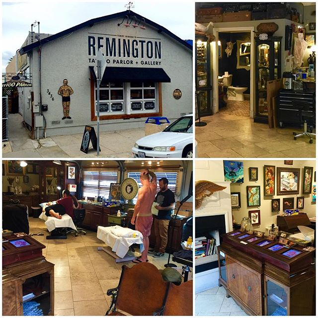 Remington Tattoo is moving. I have ran my business at our location for over 4 years at 3436 30th st. San Diego, CA 92104 We are near Lefty's Pizza, Amorcito Corazon, The Smoking Goat, Underbelly, Influx, Modern Times Craft Beer Tasting Room, Blue Foot, Tacos Perla, the new Queens town public house's 3rd location is opening as well as The Smoking Goat's second location in our neighborhood. Zensei Sushi, Cardemum and Wow Wow Waffles. The giant North Parker has faced our business with its many tenants and businesses below. It is an awesome location and we will be moving after we complete escrow on a building I am buying across the street in the same neighborhood. I would have no intentions of moving as I love the spot if it wasn't for this opportunity. Currently we have 7 artist working in a shop that is too small for us. I needed to expand before my lease and decided to jump on the opportunity to buy a building. My land lord has been great, but I need to move ahead with my plans so we are looking for somebody interested in taking over the spot and running a new business. Obviously this is not open to Tattoo Artist as we will still be in the neighborhood. Any business should want to consider our location as the neighborhood is amazing. If you have any questions please call me. 16193079433 or 16197958915 Terry RiberaWww.remingtontattooWww.terryribera.com