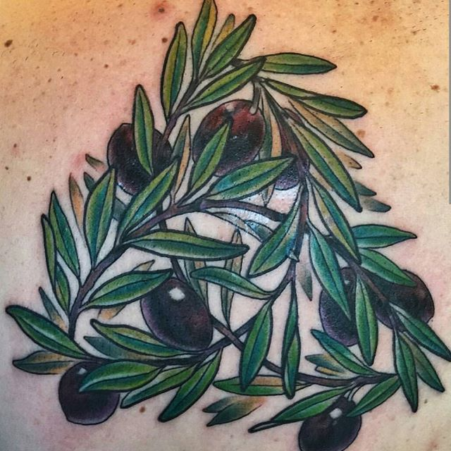 Olive branch triangle by @nathanieltattoosd #art #tattoo #tattoos #tattooart #remington #remingtontattoo #nathanielgann #nathanielganntattoo #olives #olivebranch #northpark #30thst #sandiegotattoo #sandiegotattooshop #sandiegotattooartist #sandiegoartist #sandiego