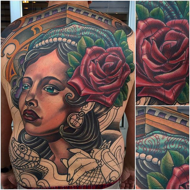 In progress by Terry Ribera @terryribera @remingtontattoo @stigma_rotary #terryribera #stigmarotary #hyperv3 #prodigy #sandiego