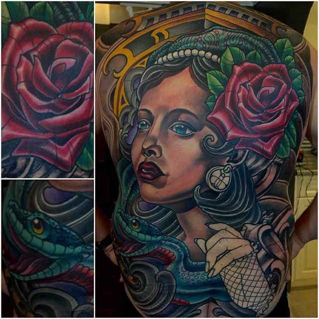 #terryribera @terryribera @remingtontattoo #sandiego #customtattooartist #sandiegotattooartist #northparktattooartist #onemoresession #inprogress