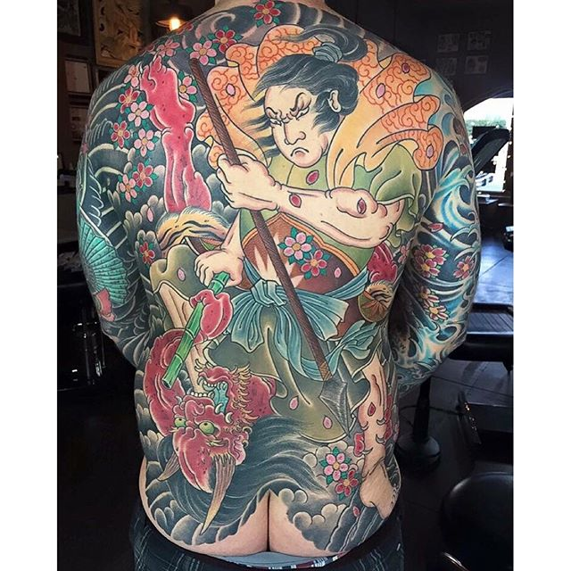 by the newest member of our shop Alessio Ricci @alessioricci @remingtontattoo #remingtontattoo #sandiegotattooartist