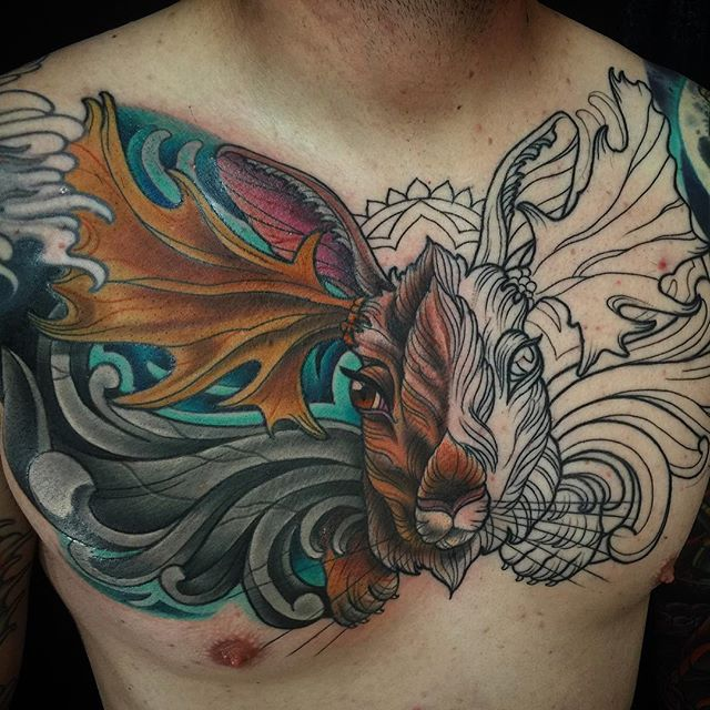 #terryribera @terryribera #mooseelope second session color and shading 2.5 hours
