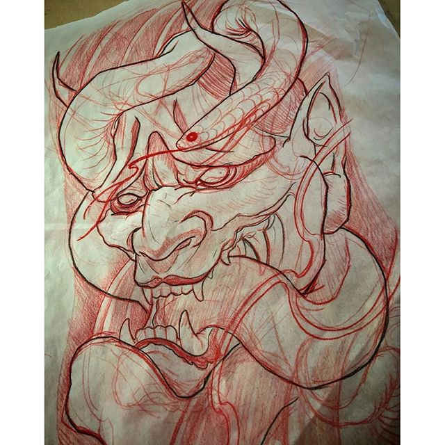 Sketch by @gust_razotattoos #tattoo #tattoos #tattooart #wip #sketch #sketching #northpark #30thst #sandiegotattoo #sandiegotattooshop #sandiegotattooartist #sandiegoartist #sandiego