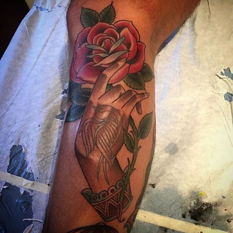 Tattoo by @alessioricci #remingtontattoo #alessioriccitattoo #sandiegotattoos #northpark