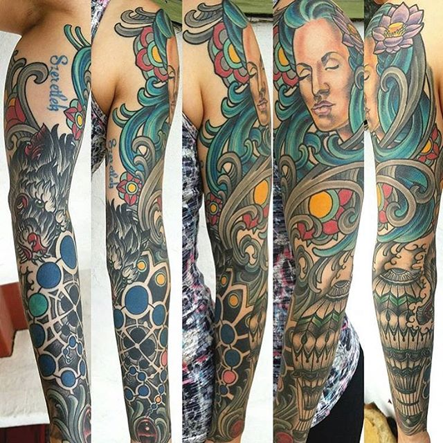 Brad and Terry Collaboration Sleeve