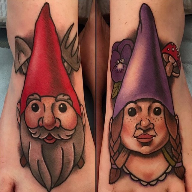 Gnomes Tattoo!