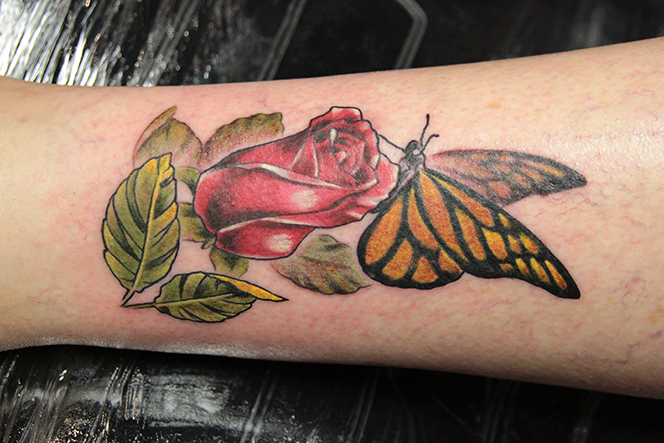 Nathaniel Gann Tattoo Art - Remington Tattoo San Diego